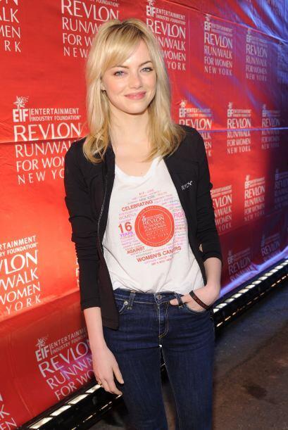 Emma Stone es súper 'hot' con su melena rojiza, pero mega fría con su ca...