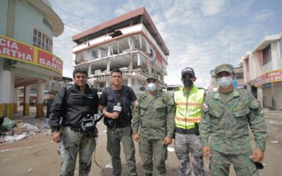 Orlando Segura recorrió las calles de Ecuador