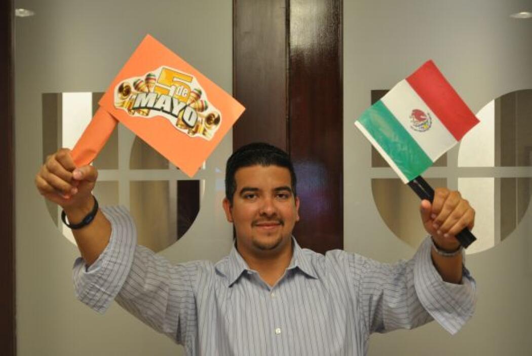 El ejecutivo de ventas, Dan Martínez, celebrará sus raíces mexicanas en...