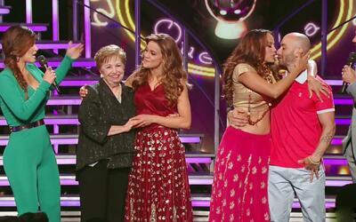Surprise, Ligia recibió a su abuelita y Catherine a su novio