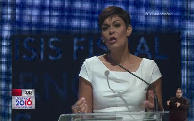 "Maria de Lourdes Santiago: ""Yo no soy anti estadounidense, soy anti colo..."