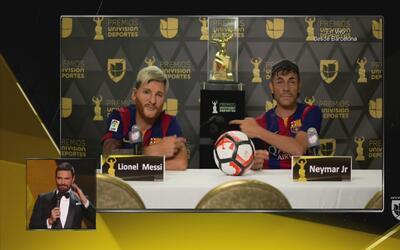 El dúo dinámico, Lio Messi y Ney Junior, se excusan por no poder acudir...