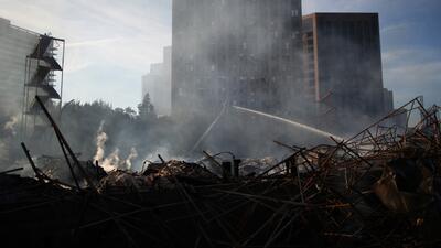 Investigan incendio en Los Angeles como un siniestro criminal