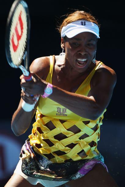 Venus Williams sudó de más para avanzar a la siguiente ronda, ganando su...