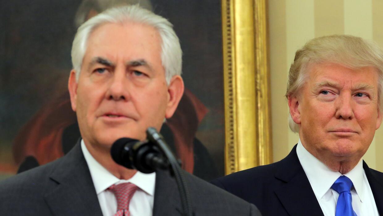 El secretario de Estado, Rex Tillerson, se reunirá este mi&eacute...