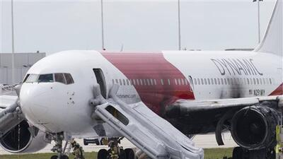 Dynamic Airways dice que avión incendiado en Florida superó las inspecci...