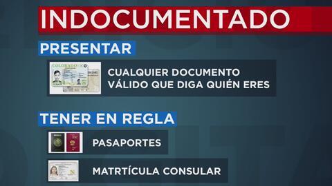 Estos son los documentos que usted debe llevar consigo cuando se encuent...