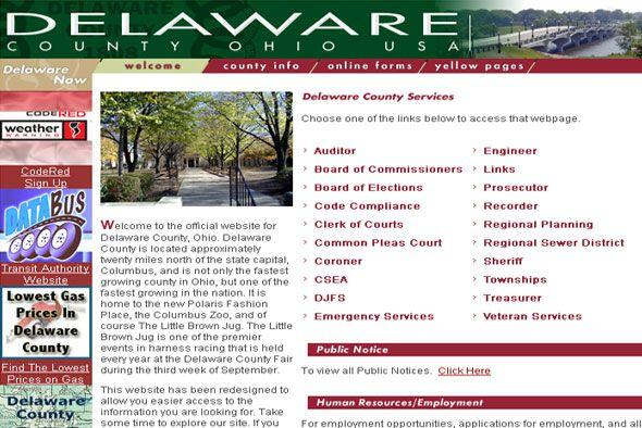 6. DELAWARE COUNTY, OHIO- Delaware es, de igual manera, otra región que...
