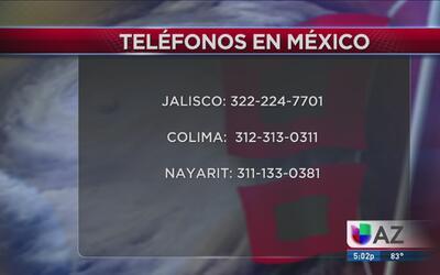 Albergues en México por #HuracanPatricia