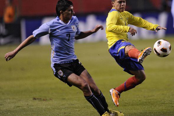 Ecuador y Uruguay divideron honores lo que terminó por beneficiar a Bra...