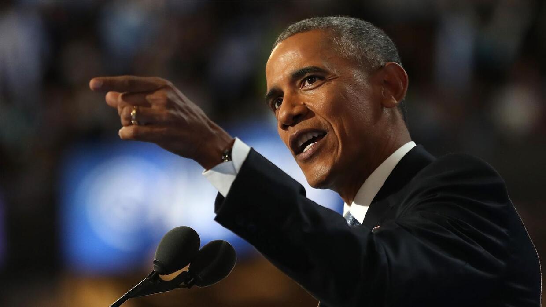 Obama califica a Hillary Clinton como la persona más capacitada para lid...