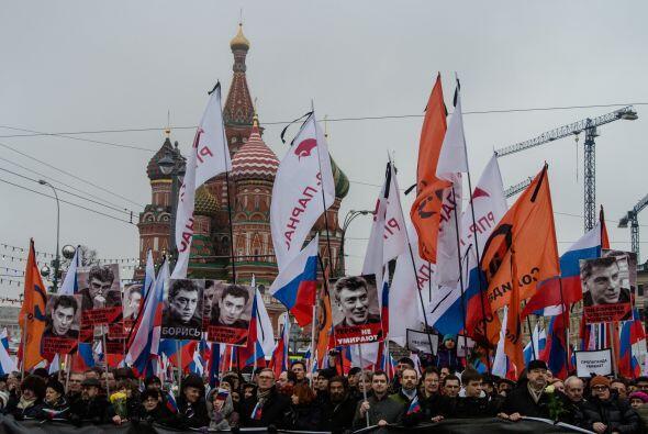 La oposición ha achacado el asesinato de Nemtsov a la intolerancia hacia...