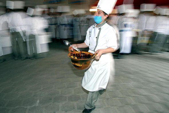 El mole, platillo típico mexicano, también ha sido parte de estos logros.