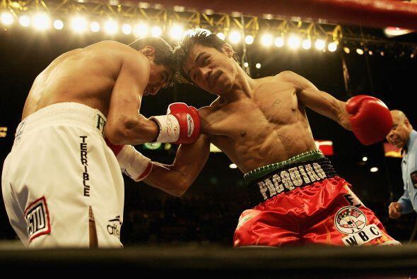 Las apuestas antes de la pelea estaban 2-1 a favor del filipino Manny Pa...