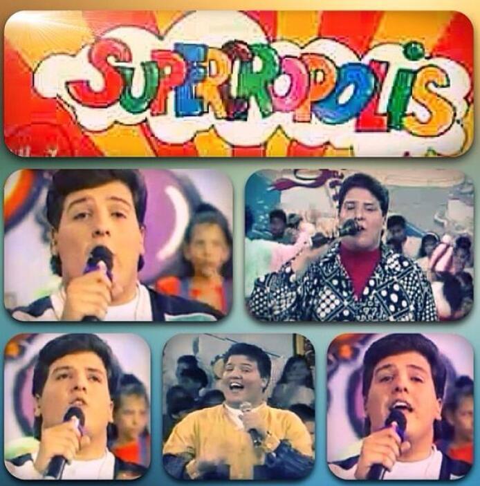 """""""En mi programa de Televisión """"SUPERCROPOLIS"""" en Venezuela. 1992 en Radi..."""
