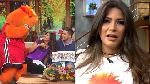 Detrás de cámaras: Burnie le iba a zafar las extensiones a Ana Patricia