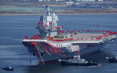 Se cree que el nuevo portaaviones chino entrará en servicio en 2020.