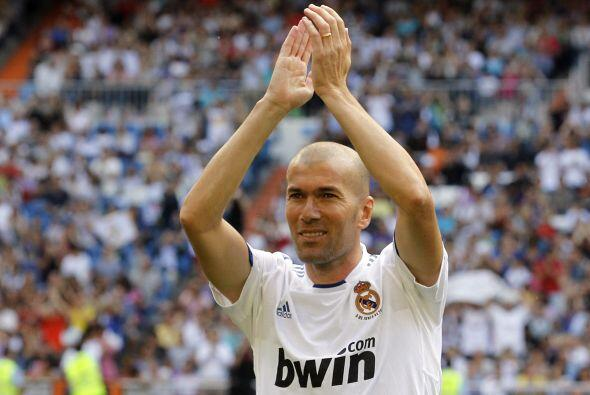 Tampoco podía faltar Zinedine Zidane.