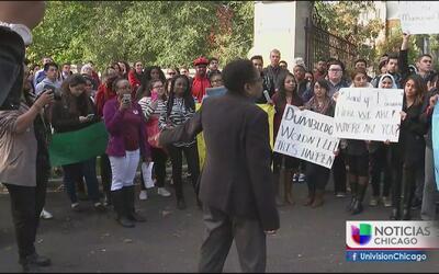 Estudiantes de la Universidad Dominican denuncian pintas racistas
