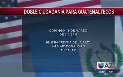 Servicios de Doble Ciudadania para los guatemaltecos
