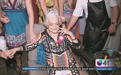 Esperanza Bravo, una mujer llena de vida a los 90
