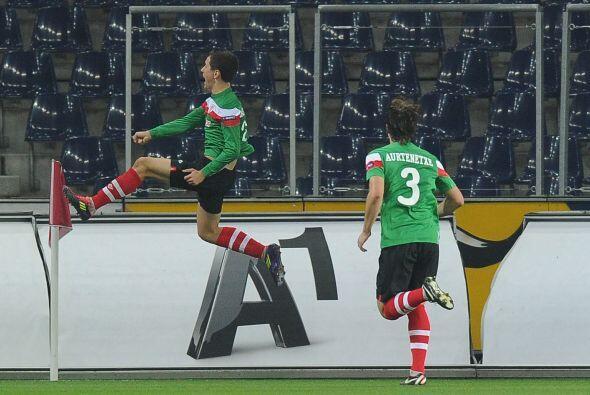 Y un gol de Ander Herrera significó el 1-0 final en favor de los 'Leones...