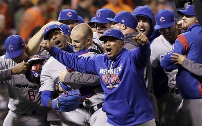 Los Cubs están a un paso de llegar a su primera Serie Mundial des...