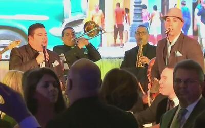En el Hotel Mandarin de Washington se llevó a cabo la gala latina para f...
