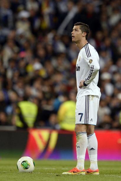 Así como la frustración de los futbolistas del Real Madrid...
