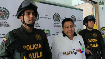 Peligroso capo, tras las rejas en Colombia