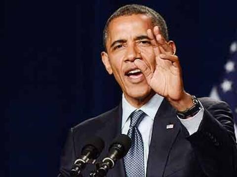 El presidente de EEUU, Barack Obama, anunció al país desde...