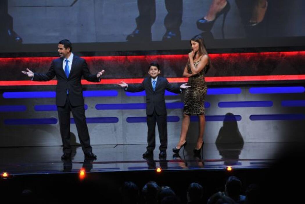 ¿Veremos a este mini César dentro de los ejecutivos de Univision?