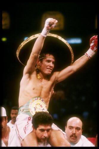 Julio César Chávez se enfrentó a Meldrick Taylor el 17 de agosto de 1990...