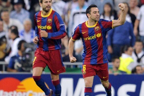 El Barcelona celebraba y ponía un pie en la final.
