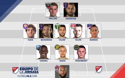 Equipo de la Jornada 25 de la MLS
