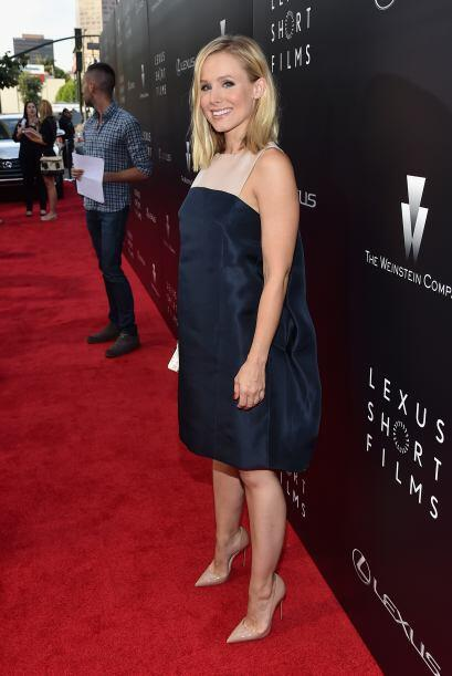 Kristen Bell será la segunda vez que se convierta en mamá.