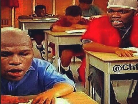 50 Cent continúa sobre Floyd Mayweather Jr. El rapero subi&oacute...