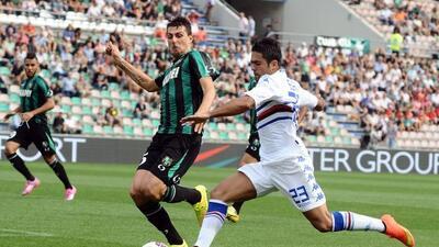 El defensa italiano durante el juego ante la Sampdoria.
