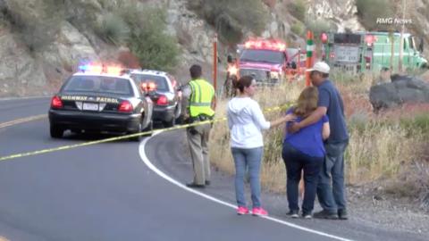 Familiares de desaparecidos donde encontraron vehículo desbarranc...