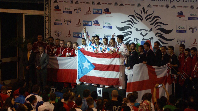 Mundial de Taekwondo en Italia 2015