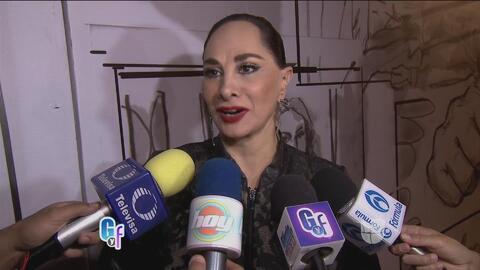 Susana Dosamantes defendió a Paulina Rubio de los rumores de separación...