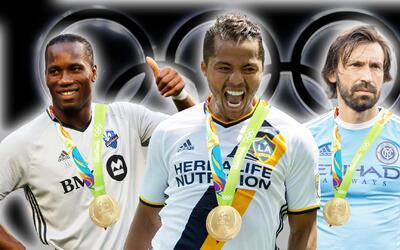 Medallero Olímpico de la MLS