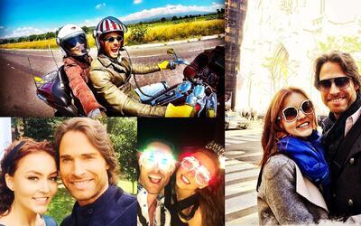 Angelique Boyer y Sebastián Rulli cumplieron dos años de novios en Tres...