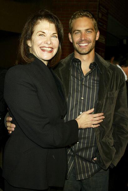 Paul Walker con quien fuera jefa del estudio Paramount, Sherry Lansing.