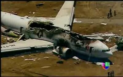 Pilotos de accidente en San Francisco fueron interrogados