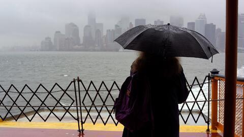 La precipitación y la lluvia intensa llegan a Nueva York