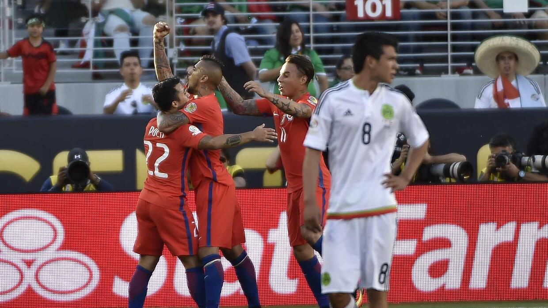 Chile aplastó a México