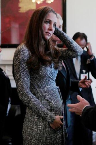 Ahora no hay que correr a encontrar la exclusiva del embarazo de Kate, t...