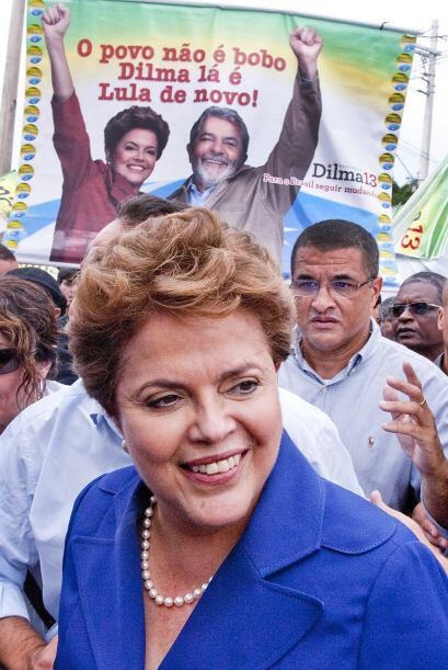 Otra política, Dilma Rousseff, candidata a suceder a Luiz In&aacu...