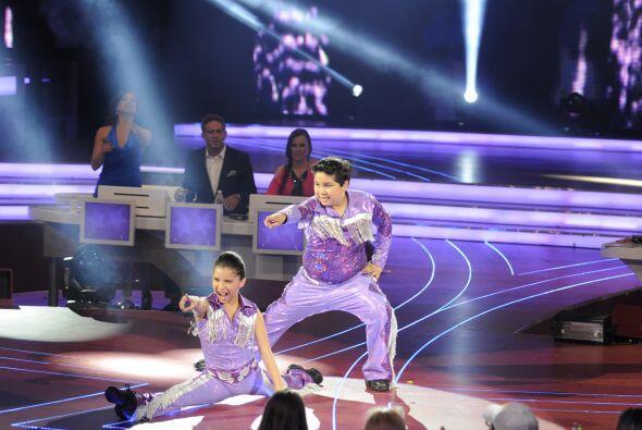 Su baile fue tan impresionante que hasta a Gali le dieron ganas de apren...